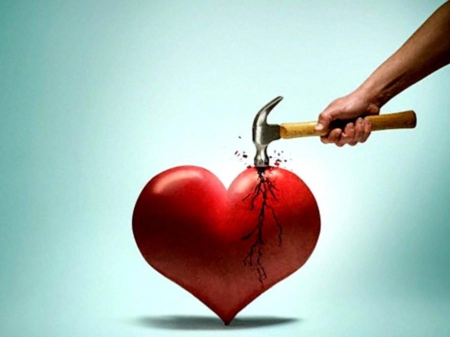 Картинки боли и разбитого сердца