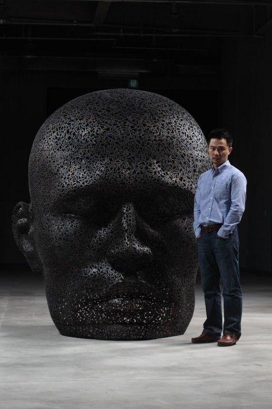 Скульптуры художника Seo Young Deok (10 фото + 1 видео)