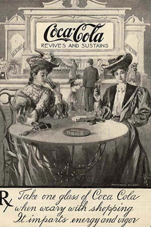 Винтажная и раритетная реклама Coca-Cola (45 фото)