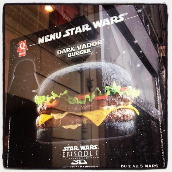Бургер Darth Vader (7 фото)