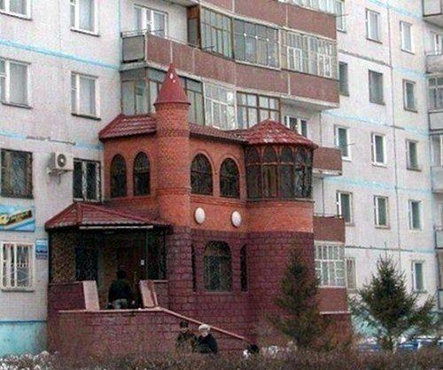 Интересные балконы (10 фото)