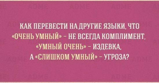 Тонкости и приколы русского языка в картинках (10 фото)