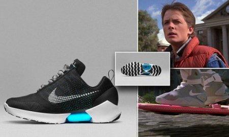 Nike HyperAdapt 1.0 кроссовки с авто шнуровкой (18 фото)