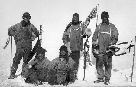 Команда британской экспедиции «Терра Нова»