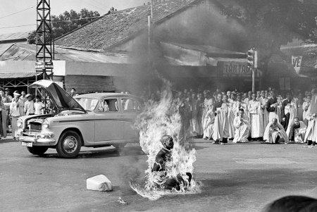Самосожжение монаха