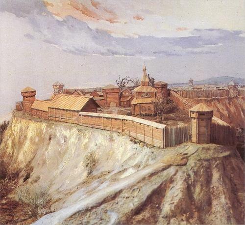 Где основан Томск?