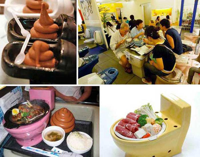 Ресторан туалет в Тайване
