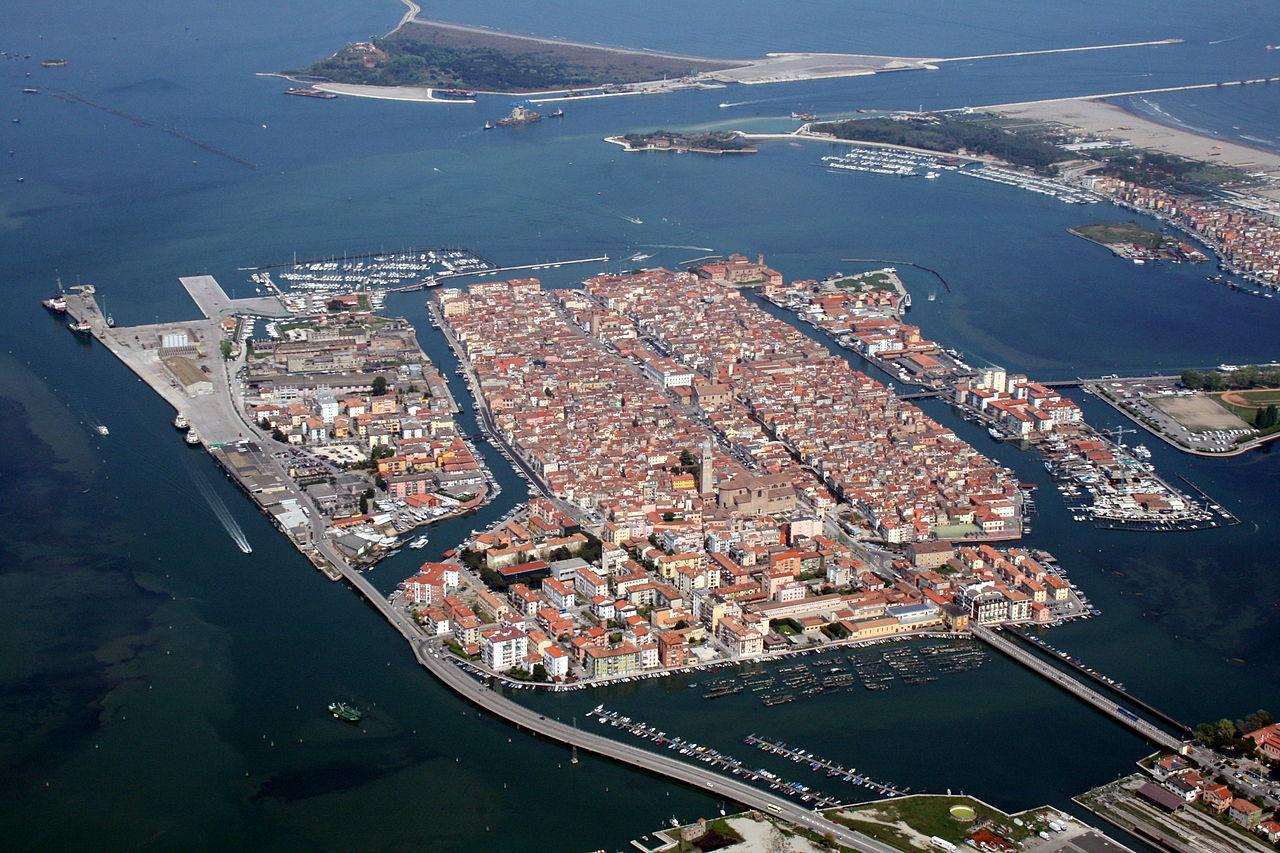 Кьоджа – это маленькая Венеция