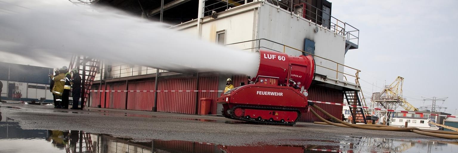 Пожарный робот LUF 60